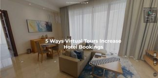 Virtual Tours increase hotel booking