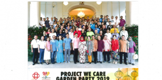 Project We Care Garden Party 2019 Singapore