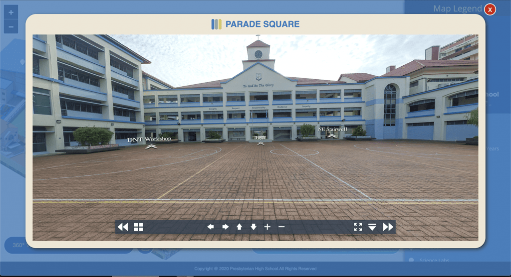 virtual tour PHSS