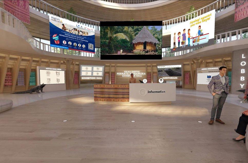 virtual tour lobby kilau digital flobamora